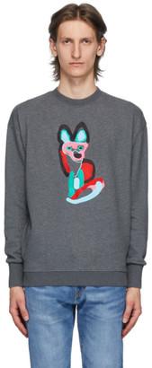 MAISON KITSUNÉ Grey ACIDE Fox Sweatshirt
