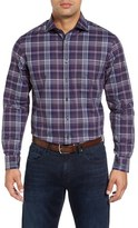 Bobby Jones Men's Regular Fit Plaid Sport Shirt