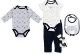 Baby Gear Gray Bears Five-Piece Layette Set - Infant