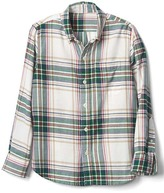 Gap Plaid button-down flannel shirt