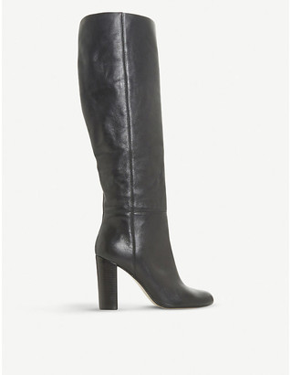 Dune Simonne leather knee-high boots