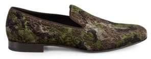 Mezlan Caprio Brocade Camo Loafers