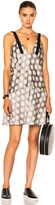 Calvin Klein Collection Knox Multi Print Crew Neck Dress