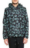 Ami Alexandre Mattiussi Floral Print Jacket