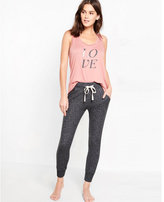 Express one eleven love scoop neck muscle tank