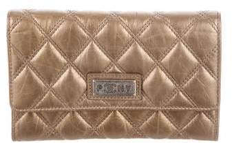 Chanel Quilted Paris-New York Wallet