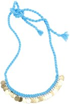 Peppercorn Kids Gold Coin Necklace - Turquoise-One Size