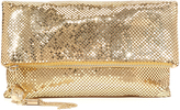 Whiting & Davis Snake Head Fold Over Clutch