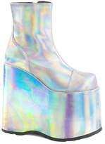 Demonia Women's Slay 204 Platform Ankle Boot