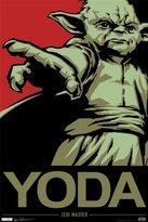 Star Wars Trends Intl. Yoda Poster, 24-Inch by 36-Inch