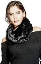 GUESS Faux-Fur Infinity Scarf