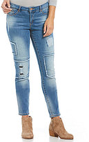 Miraclebody Jeans Ideal Skinny Patch Jeans