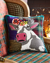 Mackenzie Childs MacKenzie-Childs Frida Cowlo Pillow