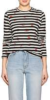 Proenza Schouler Women's Floral & Striped Cotton T-Shirt