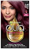 Garnier Olia Oil Powered Permanent Hair Color, 5.6 Medium Garnet Red (Packaging May Vary)