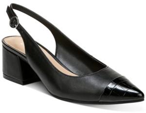 Bar III Tenley Slingback Block-Heel Pumps, Created for Macy's Women's Shoes