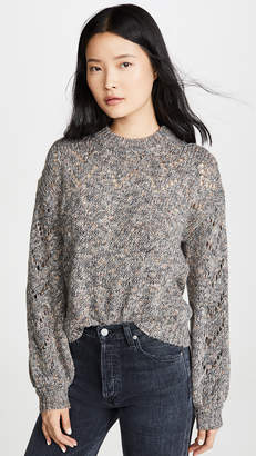 Madewell Redwood Pointelle Sweater