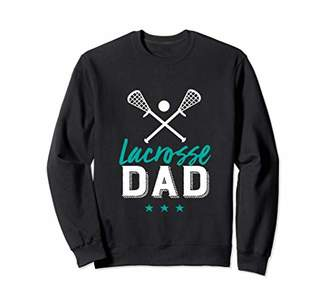 LaCrosse Dad Cool and Proud Sports Parents Father's Day Sweatshirt