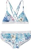 Roxy Blingbling Surf Fixed Triangle Bikini Set (716) - 8164768