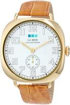 La Mer Women's LMOVW2049 Tan Gold Oversized Vintage Watch