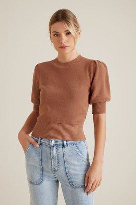 Seed Heritage Puff Sleeve Top