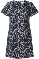 MICHAEL Michael Kors floral lace dress - women - Cotton/Viscose - 2