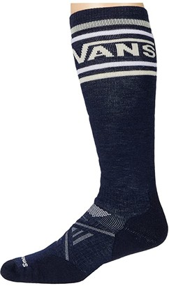 Smartwool PhD(r) Vans Classic Stripe Medium (Deep Navy) Crew Cut Socks Shoes