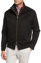 Peter Millar Westport Wool-Cashmere Jacket, Black