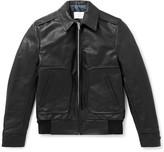 Sandro - Leather Blouson Jacket