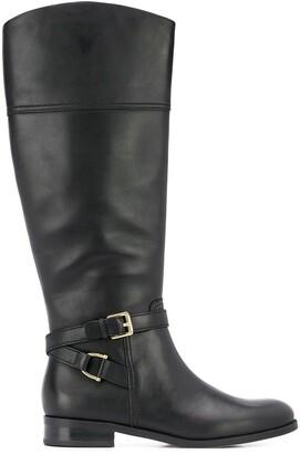 Lauren Ralph Lauren knee-length round toe boots
