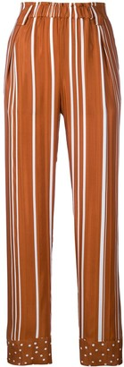 Stine Goya Spots And Stripes Print Trousers