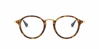 Ray-Ban Men's RX2447V Round Eyeglass Frames Non Polarized Prescription Eyewear