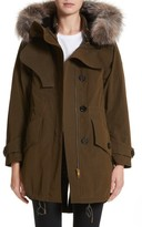 Burberry Women's Ramsford 3-In-1 Hooded Parka With Genuine Fox Fur & Genuine Shearling Trim