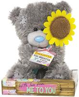 Me To You Tatty Teddy Daughter Sunflower Bear 16cm