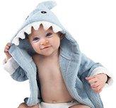 Aautoo Baby Towel Shark Hooded Bathrobe,blue,0-12 Months