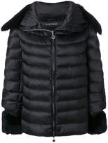 Hetregó fur trim puffer jacket