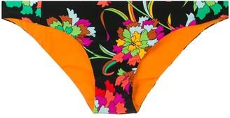 La DoubleJ floral print hip briefs