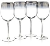 Mikasa Cheers Collection Metallic Ombré Wine Glasses, Set Of 4