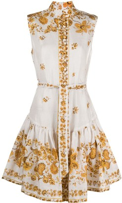 Zimmermann Amelie linen mini dress