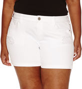Arizona Denim Shorts Juniors Plus