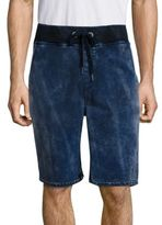 True Religion Decayed Terry Dyed Finish Shorts