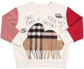 Burberry Cloud Patch Cotton Sweatshirt