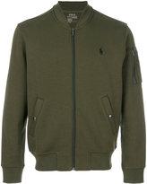 Polo Ralph Lauren zipped sweater - men - Cotton/Polyester - S