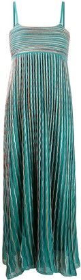 M Missoni Wave-Print Midi Dress