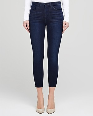L'Agence Margot High-Rise Skinny Jeans in Marino Blue