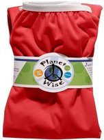 Planet Wise Reusable Diaper Pail Liner, Red by Planet Wise Inc.