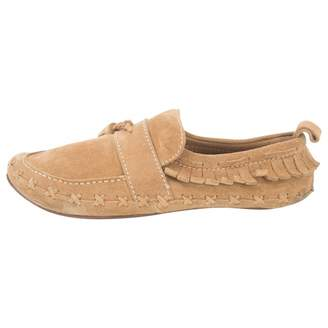DSQUARED2 Camel Suede Flats