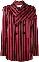 Marques Almeida Marques'almeida striped double breasted blazer