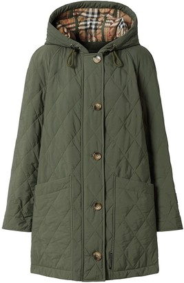 Burberry Quilted Thermoregulated Coat