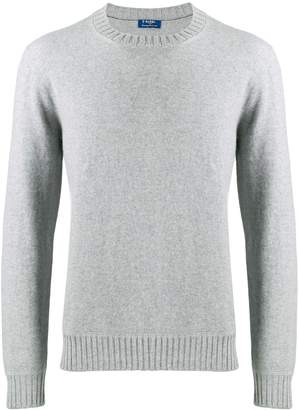Barba long-sleeve fitted sweater